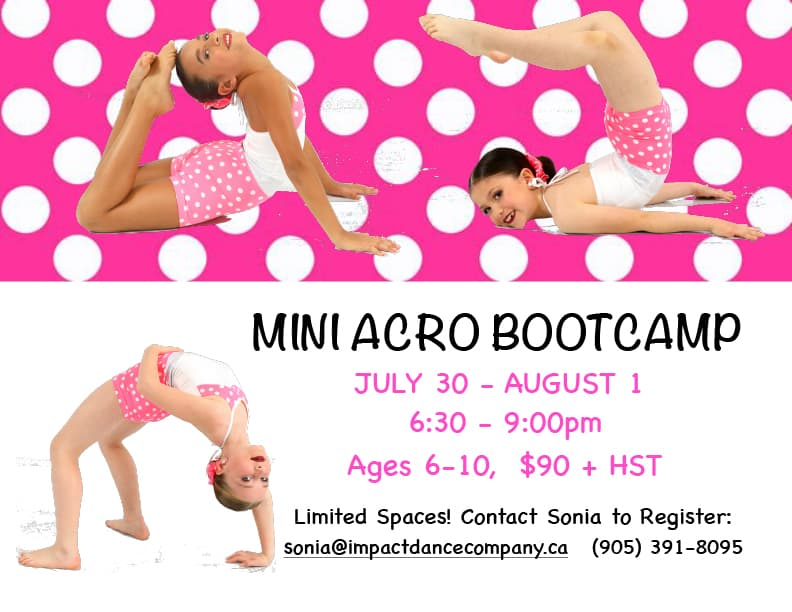 Mini Acro Bootcamp 2019